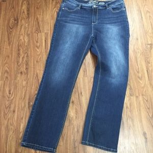 "Buffalo ""Misha"" Mid-Rise Straight Stretch Jeans"